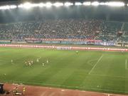 动容!中甲球迷高唱我爱你中国 为女足战世界杯助威