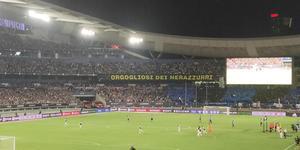 现场-狂追C罗与高呼梅西 还有两人让尤文球迷泪目