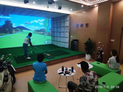扩容+设备翻倍 深圳斯耐客高尔夫训练馆华丽升级