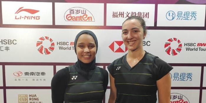 埃及女将亮相福州 非洲第一渴望实现东京奥运梦