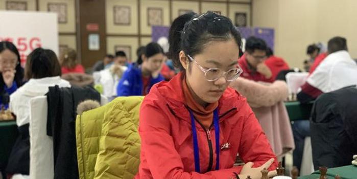 8岁便参加国象甲级联赛 这个北京小姑娘不一般
