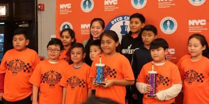 纽约青少年国际象棋锦标赛 华策会曼哈顿队夺冠