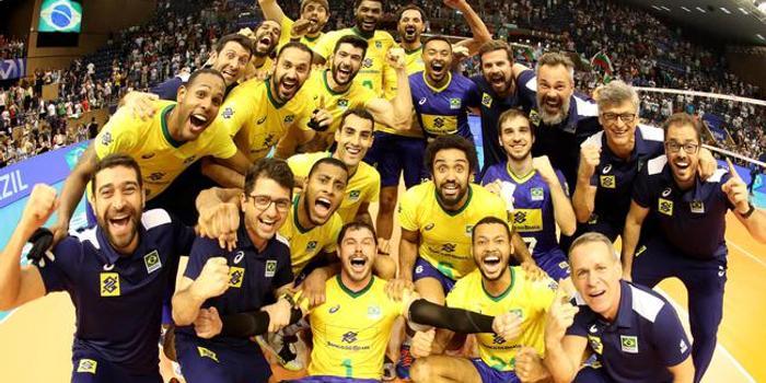 巴西男排0-2后救赛点逆转保加利亚 获东京奥运资格