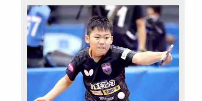 12岁松岛明年就读精英学院 教练:能力不输张本