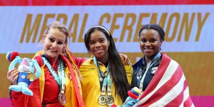 世锦赛女举81哥伦比亚摘金 男举102白俄罗斯夺冠