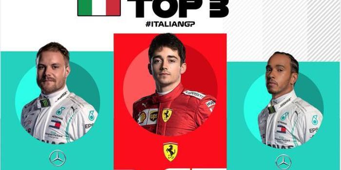 F1意大利站正赛成绩表/积分榜:勒克莱尔超维特尔