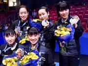 日媒:国乒刺激日本女乒竞争 打倒她们成终极目标