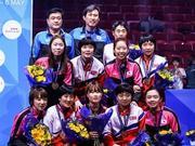 朝鲜将首次出战乒联韩国公开赛 5项全部参加