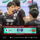 亞錦賽中國男排1-3不敵日本 連輸三場無緣四強