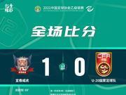 房政陽頭槌制勝 宜春威虎1-0中國U20保持不敗