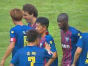终于等到!亚亚图雷头槌迎中国首球 吹响冲超号角
