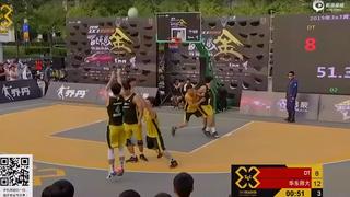 3X3黄金联赛杭州站5佳球!