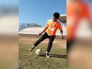 云南足球少年试训职业队看到差距 身体素质获认可