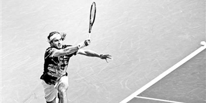 澳网击败费德勒 1998年希腊小将西西帕斯跻身前20