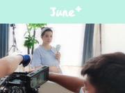 刘璇41岁怀二胎孕味十足 晒工作照发福明显