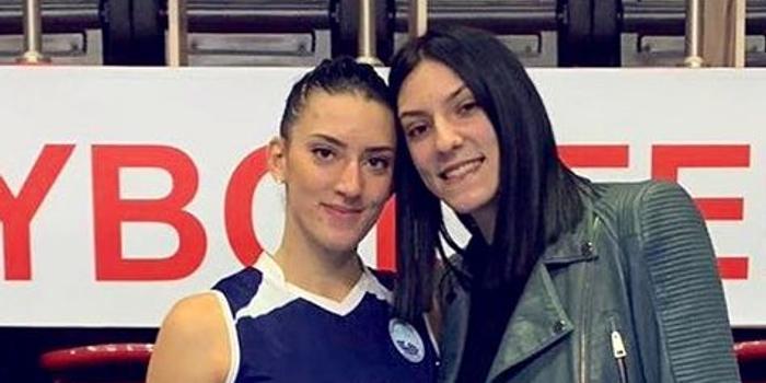 博斯科维奇姐姐和土耳其球队签约 披波黑女排战袍