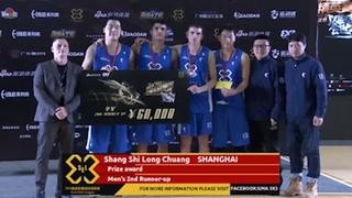上海鏖战两场获精英赛季军