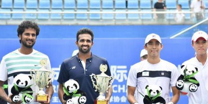 成都挑戰賽男雙決賽印度組合2-1勝韓國組合奪冠