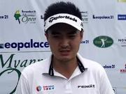 视频-缅甸公开赛首轮刘晏玮采访 赛季首秀感觉不错