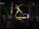 视频-弯弓射雕!博尔特铜像正式揭幕