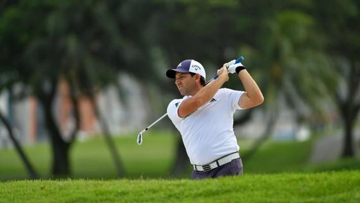 新加坡公开赛首日集锦 加西亚会馆领先