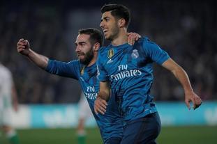 西甲-皇家贝蒂斯3-5皇家马德里