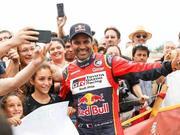视频-达喀尔拉力赛落幕 塞恩斯夺汽车组总冠军