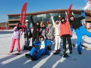 新浪体育&探路者超级雪收官 众星助推三亿人上冰雪