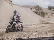 达喀尔组委会宣布取消摩托车组SS12赛段比赛