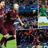 欧冠-梅西救主 切尔西2中立柱1-1平巴萨