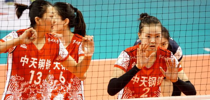 排超半决赛首回合上海2-3江苏