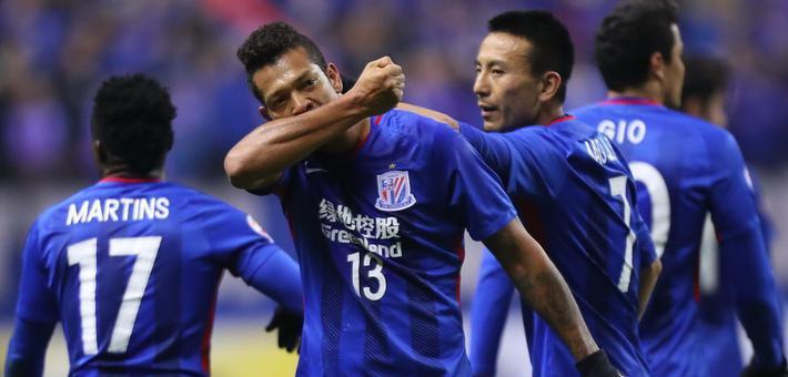 瓜林救主 申花2-2悉尼FC