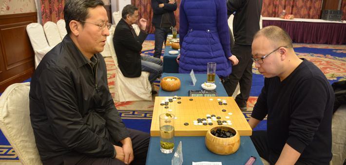 高清-温州围棋团体赛名人组赛打响