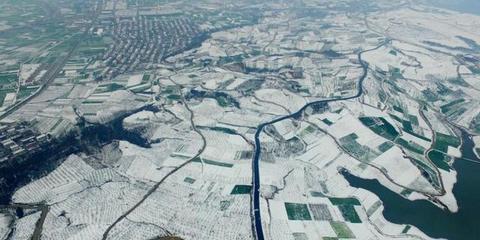 汉中洋县迎来春日大雪 银装素裹分外妖娆