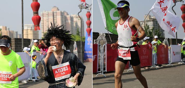 西安城墙马拉松表情包来了