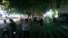 汉中宁强5.3级地震现场图 市民很淡定