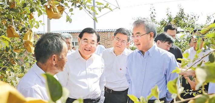 胡春华在陕西省实地督导脱贫攻坚工作