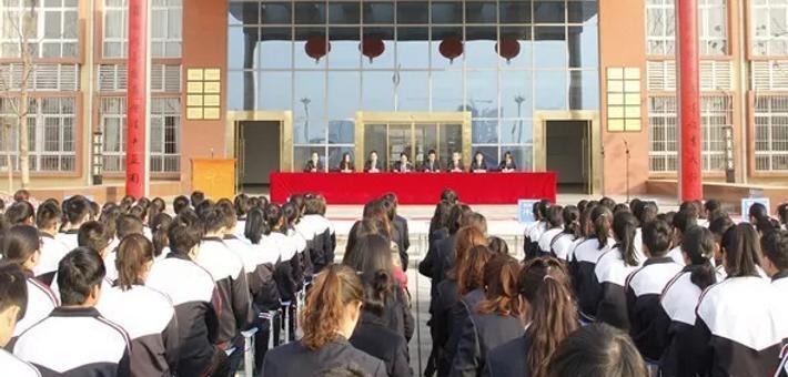 渭南中学举行2018年高考百日冲刺动员大会