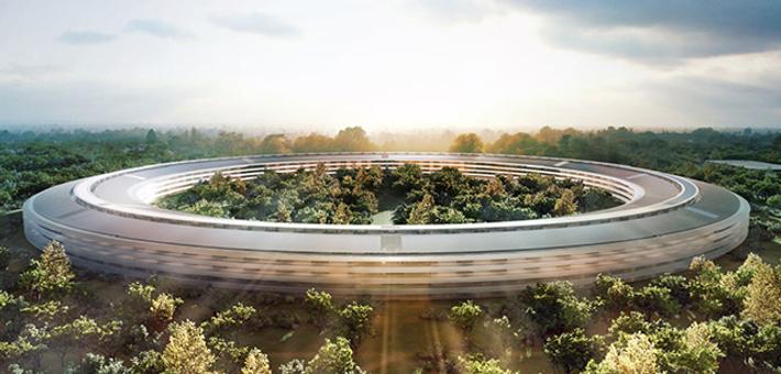 苹果地图加入新总部Apple Park地图