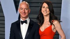全球最贵离婚案即将诞生:贝索斯发妻或成全球女首富