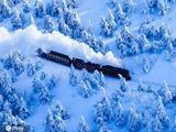 一路向寒 赏唯美雪景纯白的世界美