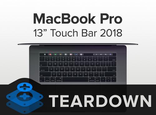 2018新款蘋果MacBook Pro 13 Touch Bar版拆機解析