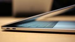2015款MBP下架:苹果Mac笔记本统一雷电3接口