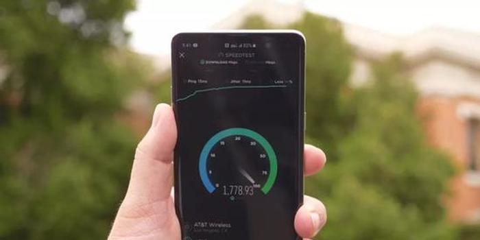 美运营商5G网速测试 平均速度超1.4最高达到1.7Gbps