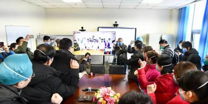 北京武汉首次5G远程讨论病例!医疗队获祝福(视频)