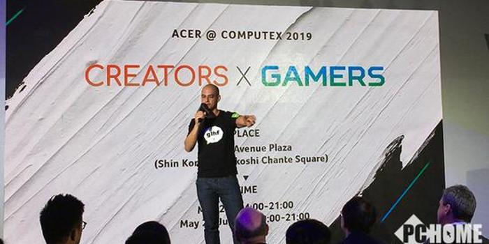臺北電腦展Acer推出ConceptD 7設計師筆記本