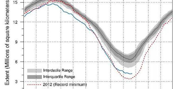 """北极海冰:气候变化的关键指标和""""放大器"""""""