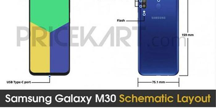 三星Galaxy M30更多信息曝光 水滴屏 后置三摄