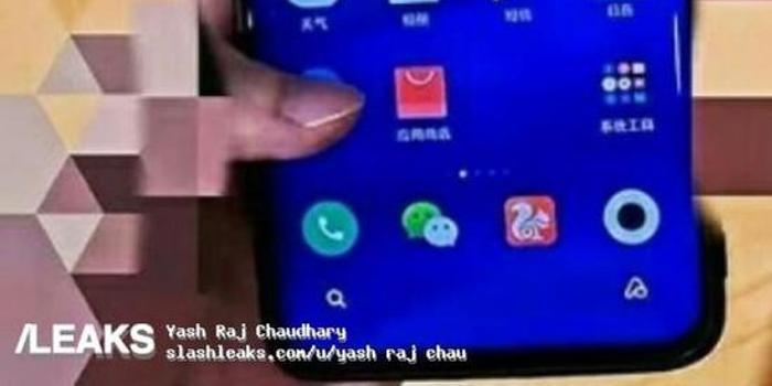 小米Note10真机曝光:真全面屏设计+1亿像素摄像头