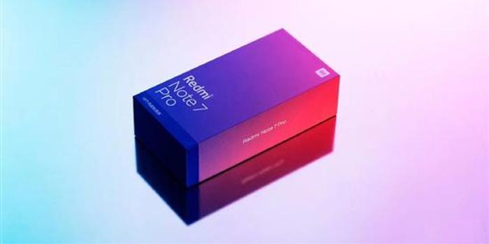 小米首席設計師曬出紅米Note 7 Pro包裝盒:美不勝收